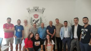"""3° encontro do projecto """"Equal opportunities through inclusive cooperation in BASKETEBOL"""""""