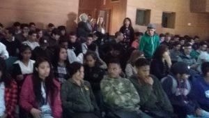 Apresentação do programa de voluntariado jovem para a natureza e florestas