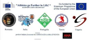 Athletes Go Further In Life - cartaz
